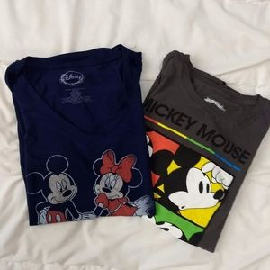 Tops - Couples Mickey and Minnie shirts